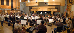 The 103 piece Hollywood Studio Symphony performs on <i>Resident Evil 5</i>