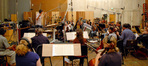 Tim Davies conducts the Hollywood Studio Symphony strings