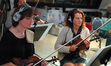 Violinists Belinda Broughton and Helen Nightengale
