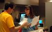 Michael Giacchino and scoring coordinator Andrea Datzman