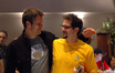 Actor Timothy Olyphant and composer Michael Giacchino