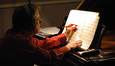 Pianist Mike Lang makes a notation change