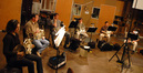 Suzzette Moriarty, Mark Adams, Steve Becknell, Rick Todd, Brian O'Connor and Jim Thatcher on French horn