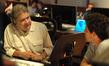 Scoring mixer Bobby Fernandez and stage recordist Tom Hardisty