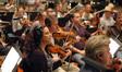 (F-R) Concertmaster Bruce Dukov, Julie Gigante, Mark Robertson, Shawn Mann and Bryan Dembow
