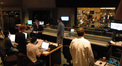 View from the control room at Sony as Rolfe Kent conducts