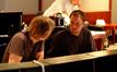 Composer Tyler Bates and scoring mixer Gustavo Borner