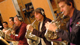 Dan Kelley, Phil Yao, Mark Adams, Rick Todd and Steve Becknell on French horn