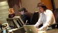 ________, orchestrator Marc Mann and digital recordist Adam Olmstead
