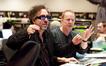 Director Tim Burton and composer Danny Elfman