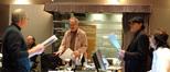 Scoring mixer Dennis Sands, orchestrator Edgardo Simone, music copyist Ron Vermillion, orchestrator Marc Mann and digital recordist Adam Olmstead