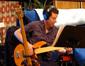 Electric bassist Justin Meldal-Johnsen