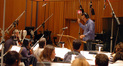 Garry Schyman conducts the strings