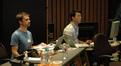 Orchestral preparer Nathan Whitehead and ProTools recordist Steven Felix