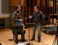 Violin soloist Martin Chalifour talks with composer Garry Schyman