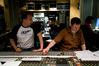 Composer Richard Jacques, Recording Engineer Matt Howe and Pro Tools Operator John Barratt