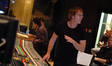 Scoring mixer Greg Townley