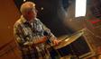 Percussionist Danny Greco