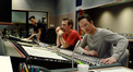 Composer Garry Schyman and score mixer Dan Blessinger