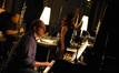Contractor Peter Rotter, pianist Randy Kerber and composer Deborah Lurie