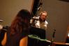 Deborah Lurie talks with bassist Mike Valerio