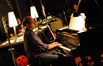 Pianist Randy Kerber during the jam session