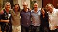 Guitarist George Doering, violinist Charlie Bisharat, pianist Randy Kerber, scoring mixer Casey Stone, composer Deborah Lurie, and bassist Mike Valerio