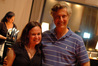 Composer Deborah Lurie and director Lasse Hallstrom