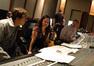 Orchestrator Abe Libbos, composer Deborah Lurie and scoring mixer Casey Stone