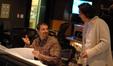 Arranger Tom Gire talks with composer Heitor Pereira