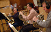 David Duke, Brian O'Connor and Jim Thatcher perform French horns on <i>Despicable Me</i>