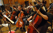 The cello section on <i>Despicable Me</i>