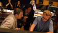 Arranger Tom Gire, composer Heitor Pereira and arranger John Sponsler