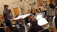 Tim Davies talks to the orchestra