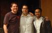 Music Supervisors Dave Jordan and Jojo Villanueva with composer Chris Lennertz