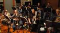 Trumpets: Dave Washburn, Rick Baptist, Warren Leunig & Rob Schaer. Low Brass: Andy Malloy, Alex Iles, Phil Teele and Doug Tornquist.