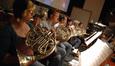 The French horns play on <i>Marmaduke</i>