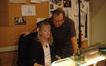 Orchestra contractors Sandra Kipp and Peter Rotter