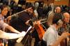 Cellist Armen Ksajikian has a unique way of bowing his cello