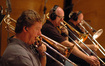 Trombonists Steve Holtman, Alex Iles, and Phil Teele
