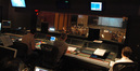 The view from the booth at Warner Brothers