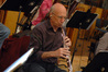David Weiss plays the oboe.