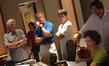 Editor John Wright, director Randall Wallace, Cullen Wallace, orchestrator Benoît Groulx and music editor Mark Wlodarkiewicz