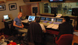 The control room in RCP Studio B