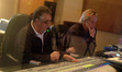 Scoring mixer Malcolm Luker and composer Nick Glennie-Smith