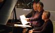 Orchestrator Brad Dechter, pianist Mike Lang and composer John Debney