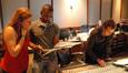 Score coodinator Sunna Wehrmeijer, orchestrator Brandon K. Verrett and scoring mixer Greg Townley