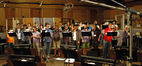 The choir sings on <i>Battle: Los Angeles</i>