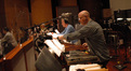 Mike Englander and MB Gordy on percussion