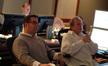 Composer Christopher Lennertz and scoring mixer Jeff Vaughn